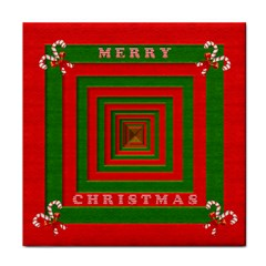 Fabric 3d Merry Christmas Face Towel