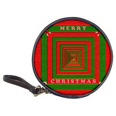 Fabric 3d Merry Christmas Classic 20-CD Wallets