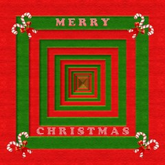 Fabric 3d Merry Christmas Magic Photo Cubes