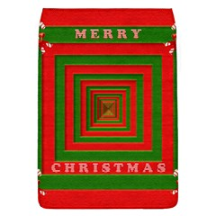 Fabric 3d Merry Christmas Flap Covers (L)