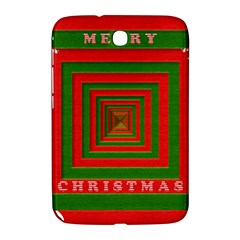 Fabric 3d Merry Christmas Samsung Galaxy Note 8 0 N5100 Hardshell Case