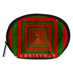 Fabric 3d Merry Christmas Accessory Pouches (Medium)