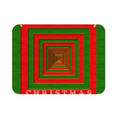 Fabric 3d Merry Christmas Double Sided Flano Blanket (mini)