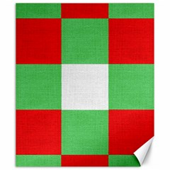 Fabric Christmas Colors Bright Canvas 20  x 24