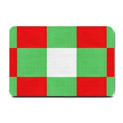 Fabric Christmas Colors Bright Small Doormat