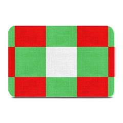 Fabric Christmas Colors Bright Plate Mats