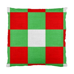 Fabric Christmas Colors Bright Standard Cushion Case (one Side)