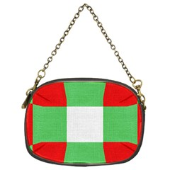 Fabric Christmas Colors Bright Chain Purses (Two Sides)