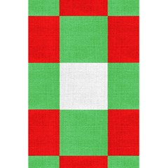 Fabric Christmas Colors Bright 5 5  X 8 5  Notebooks