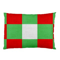 Fabric Christmas Colors Bright Pillow Case (Two Sides)