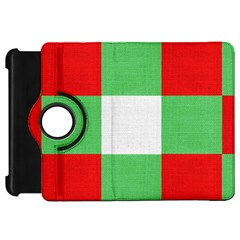 Fabric Christmas Colors Bright Kindle Fire Hd 7