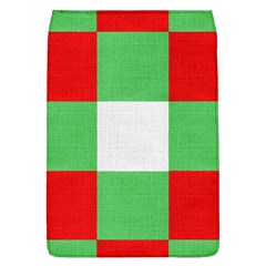 Fabric Christmas Colors Bright Flap Covers (l)