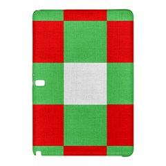 Fabric Christmas Colors Bright Samsung Galaxy Tab Pro 10 1 Hardshell Case