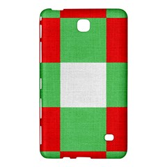 Fabric Christmas Colors Bright Samsung Galaxy Tab 4 (8 ) Hardshell Case