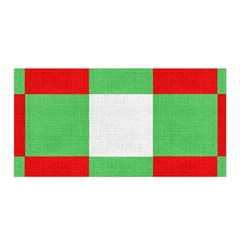 Fabric Christmas Colors Bright Satin Wrap