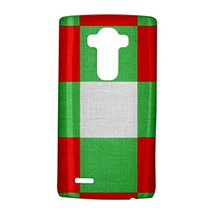 Fabric Christmas Colors Bright Lg G4 Hardshell Case