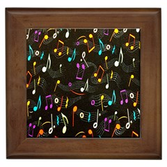 Fabric Cloth Textile Clothing Framed Tiles
