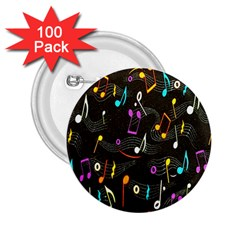 Fabric Cloth Textile Clothing 2.25  Buttons (100 pack)