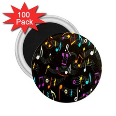 Fabric Cloth Textile Clothing 2.25  Magnets (100 pack)
