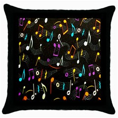 Fabric Cloth Textile Clothing Throw Pillow Case (Black)