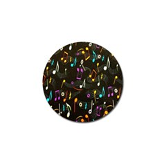 Fabric Cloth Textile Clothing Golf Ball Marker (10 pack)