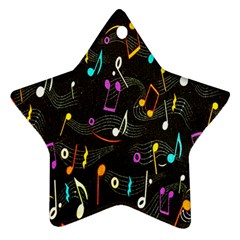 Fabric Cloth Textile Clothing Star Ornament (Two Sides)