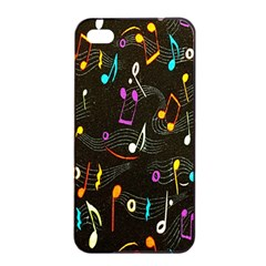 Fabric Cloth Textile Clothing Apple iPhone 4/4s Seamless Case (Black)