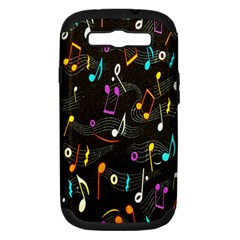 Fabric Cloth Textile Clothing Samsung Galaxy S III Hardshell Case (PC+Silicone)