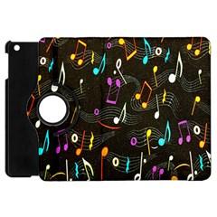 Fabric Cloth Textile Clothing Apple Ipad Mini Flip 360 Case