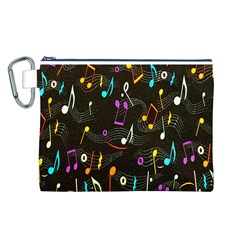Fabric Cloth Textile Clothing Canvas Cosmetic Bag (L)