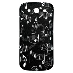 Fabric Cloth Textile Clothing Samsung Galaxy S3 S Iii Classic Hardshell Back Case