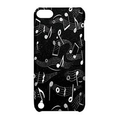 Fabric Cloth Textile Clothing Apple iPod Touch 5 Hardshell Case with Stand