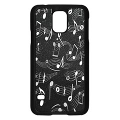 Fabric Cloth Textile Clothing Samsung Galaxy S5 Case (Black)
