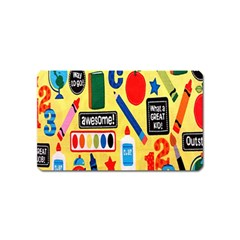 Fabric Cloth Textile Clothing Magnet (name Card)