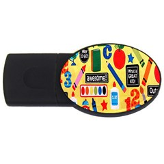 Fabric Cloth Textile Clothing USB Flash Drive Oval (4 GB)