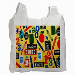 Fabric Cloth Textile Clothing Recycle Bag (one Side)