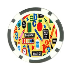 Fabric Cloth Textile Clothing Poker Chip Card Guard (10 pack)