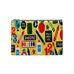 Fabric Cloth Textile Clothing Cosmetic Bag (Medium)