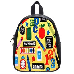 Fabric Cloth Textile Clothing School Bags (Small)
