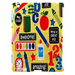 Fabric Cloth Textile Clothing Apple Ipad 3/4 Hardshell Case (compatible With Smart Cover)