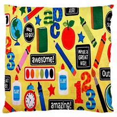 Fabric Cloth Textile Clothing Standard Flano Cushion Case (one Side)