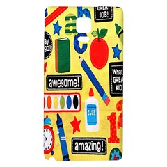 Fabric Cloth Textile Clothing Galaxy Note 4 Back Case