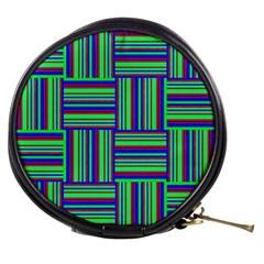 Fabric Pattern Design Cloth Stripe Mini Makeup Bags