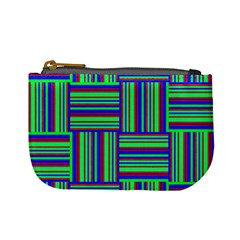 Fabric Pattern Design Cloth Stripe Mini Coin Purses