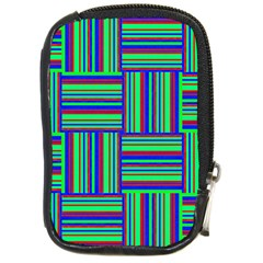 Fabric Pattern Design Cloth Stripe Compact Camera Cases