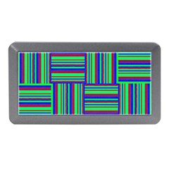 Fabric Pattern Design Cloth Stripe Memory Card Reader (Mini)