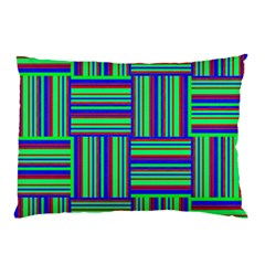 Fabric Pattern Design Cloth Stripe Pillow Case (Two Sides)