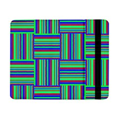 Fabric Pattern Design Cloth Stripe Samsung Galaxy Tab Pro 8 4  Flip Case