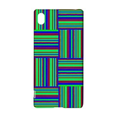 Fabric Pattern Design Cloth Stripe Sony Xperia Z3+
