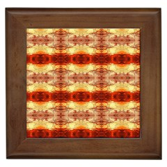 Fabric Design Pattern Color Framed Tiles